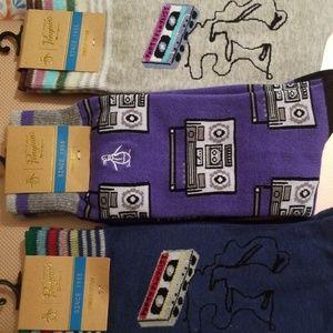 The Original Peguin Socks Boom Box Trio 3 - NWT